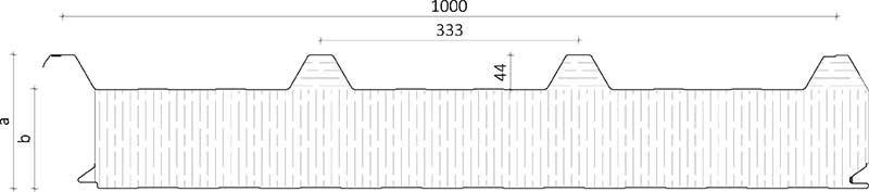 Steinullareining, stálsamlokueining, steinull, yleining, yleiningar